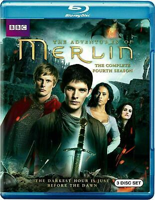 The Adventures of Merlin: The Complete Fourth Season [Blu-ray] New and Sealed!!