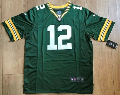 51e0fa7f1 AARON RODGERS GREEN Bay Packers Youth Limited(Stitched) Jersey Size ...