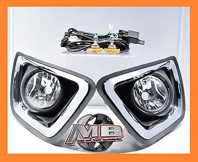 20152017 CHEVY    COLORADO    Replacement Complete    Fog       Lights    Bumper Lamps wSwitch   4850   PicClick