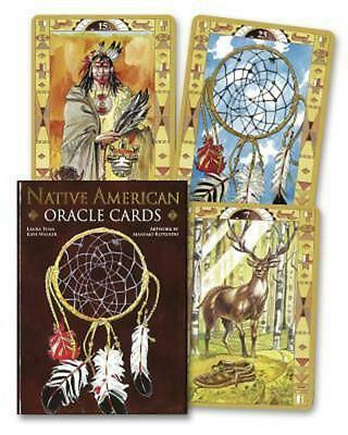Native American Spirituality Oracle Cards by Lo Scarabeo (English) Free Shipping