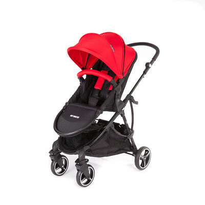 Baby Monsters - Silla de paseo GLOBE + Capazo- Color Rojo-Danielstore