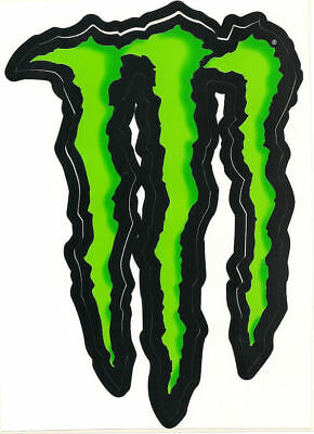 "Monster Energy Drink """"large"""" 6"" Green Claw Sticker. Authentic Sticker / Decal"