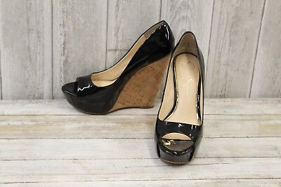 98eeb6034724 JESSICA SIMPSON BETHANI Wedges-Women s size 8 M Black -  24.75 ...