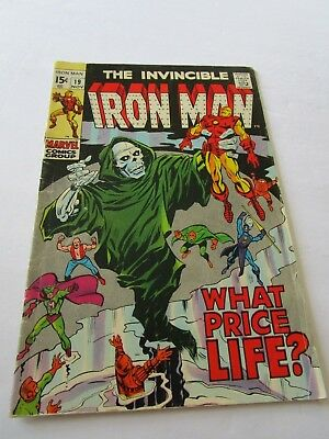 Invincible Iron Man # 19 In Good To Very Good Condition