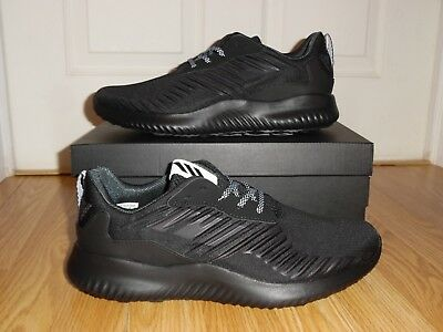 a9c994935 NEW Men s Size 10 ADIDAS ALPHABOUNCE RC SNEAKERS B42653 Black Running SHOES