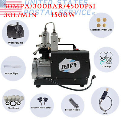 300bar High Pressure Air Compressor Paintball Fill Station System for PCP USPS