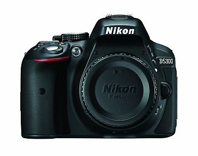 Nikon D5300 24.2 MP CMOS Digital SLR Camera with Built-in Wi-Fi and GPS B... New