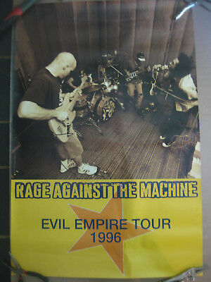 Rage Against The Machine Evil Empire 1996 Tour Promo Poster Grunge Indie Punk