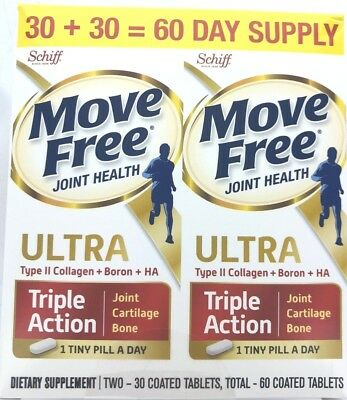 Move Free - Schiff Joint + Bone Health Supplement - Ultra Triple Action 60 Tabs