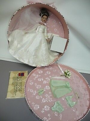 "10"" Tonner Forever Yours Tiny Kitty Collier Auburn Bride in Hatbox New NRFB"
