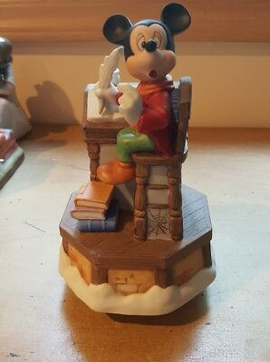 Mickey's Christmas Carol Bob Cratchit Music Box