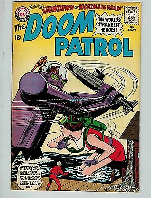 The Doom Patrol #93 (Feb 1965, DC)! FN/VF7.0+! Silver age DC beauty! SLAB IT!