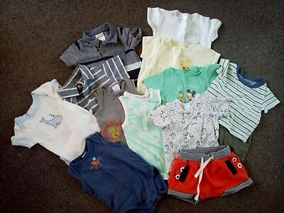 Baby Boy Summer Clothing Bundle Sizes 00,000,0000