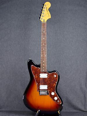 Squier Jagmaster with Soft Case E.Guitar Free Shipping Sunburst