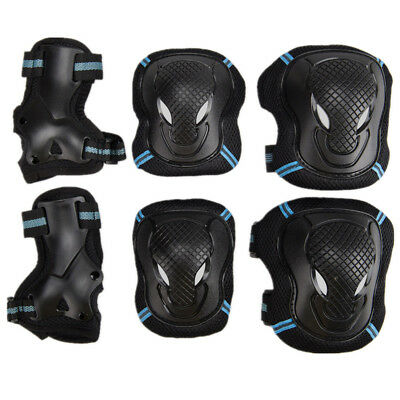 Childs Adults Sports Rollerblade 6pcs Protective Gear Skating Cycling Gears