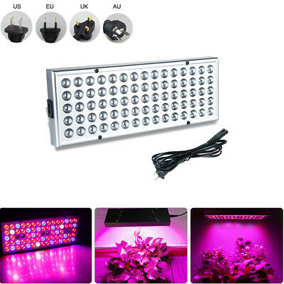 6W 25W LED Grow Light Panel Lamp for Hydroponic Plant Growing Full Spectrum