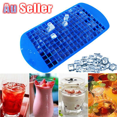 160 Grids Mini Small Frozen Cubes Silicone DIY Ice Cube Tray Ice Maker Mold