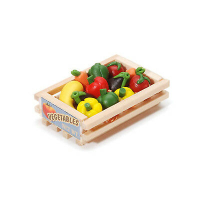 Vegetable Wood Crate Timeless Miniatures for Dollshouse