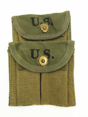 WWII Military ammunition bag for American military M1 carbine