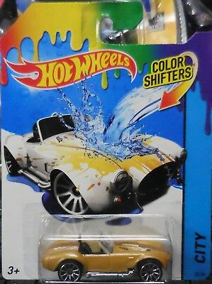 2014 hot wheels Color Shifters Shelby cobra 427 S/C Save On Combine Shipping