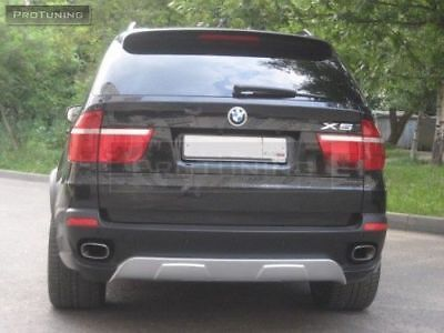 Rear Bumper Spoiler For Bmw X5 E70 06-09 Aerodynamic Aero Performance