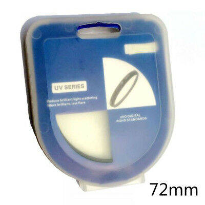 72mm UV Filter Ultra-Violet Lens Protector For Canon Sony Olympus Pentax Camera