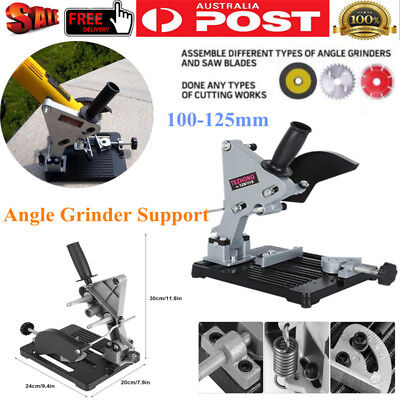 Angle Grinder Holder Stand Cast Iron Base Angle Cutter Support Bracket Holder