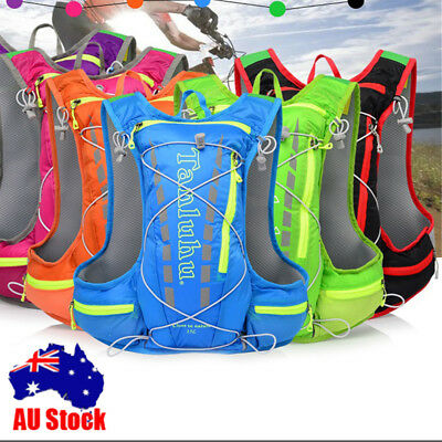 Sports Backpack Hydration Pack 2L Water Bladder Bag Cycling Running Vest AUstore