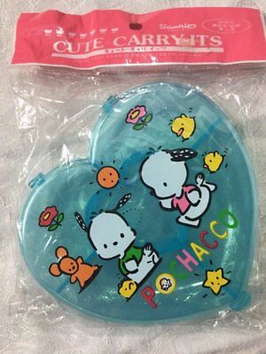 Sanrio Pochacco Cute Carry-Its Container New 1997 in pkg Japan Hello Kitty