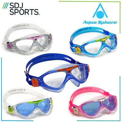 Aqua Sphere Vista Junior Jnr Childrens Youth Swimming Goggles Mask