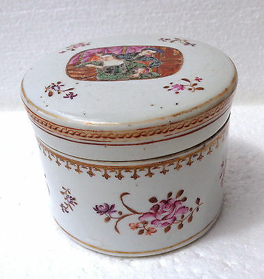 CINA (China): Old and very fine Chinese porcelain export box