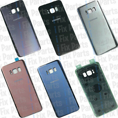 GENUINE SAMSUNG GALAXY Battery Back Rear Glass COVER REPLACEMENT S8 & S8 PLUS