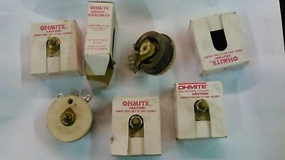 OHMITE 2040278 RE-19607 RHEOSTAT POTENTIOMETER *NEW IN BOX* Qty(5)