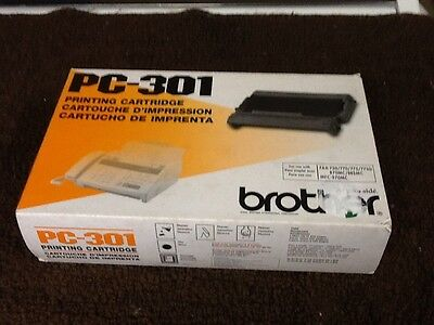 Brother Pc-301 Printing Cartridge New