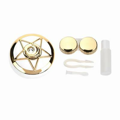 Travel Contact Lens Case Heart Box Container Holder Eye Care Kit Set With Mirror