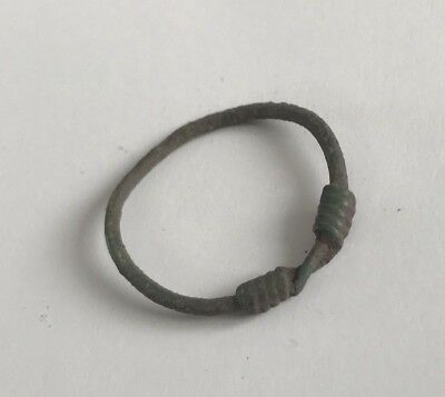 Nice Bronze Twisted Ring. Kievan Rus 8-10 AD