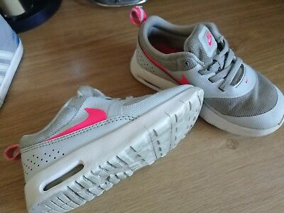 676274cdd36 GIRLS NIKE AIR max thea trainers size infant girls 8.5 - £10.50 ...