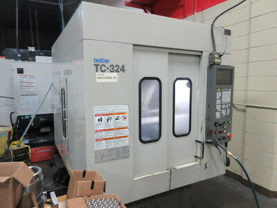Brother TC-324 CNC Drilling and Tapping Center with Auto Pallet Changer