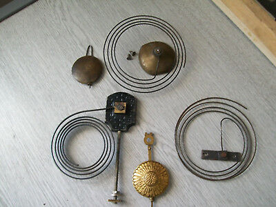 Antique and vintage clock parts spares
