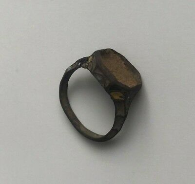 Great Medieval Ring with the remnants of enamel. Kievan Rus 12-14 AD.
