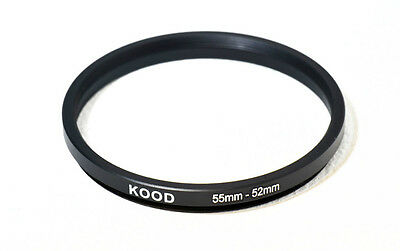 55mm-52mm 55-52 Stepping Ring Filter Ring Adapter Step down