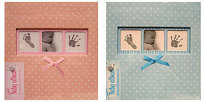 Innova Polka Dot BABY Album - Holds 6x4s - Choice of Size and Colour