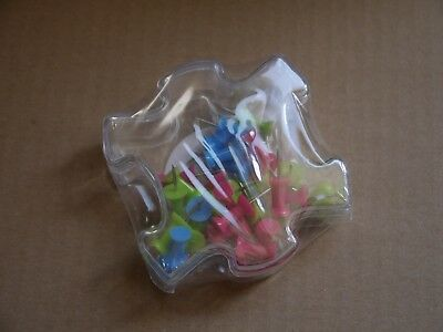 Pack of 100 with Lifting Tool Silk Painting 3 Point Pins