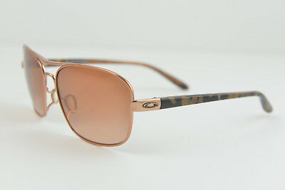 OO4116-01 Oakley SANCTUARY Rose Gold/VR50-Brown Gradient Aviator 58-14-135