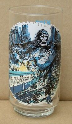Vintage Coca Cola 1976 King Kong Limited Edition Collictable Glass New Old Stock