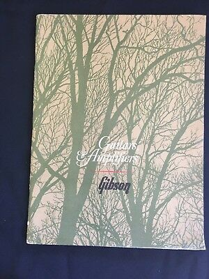 Rare 1966 Gibson Guitar & Amplifiers Catalog