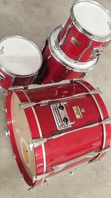 Pearl All Maple Shell Mlx Pre Masters Shellset Drumset 22 12 13 16 Top