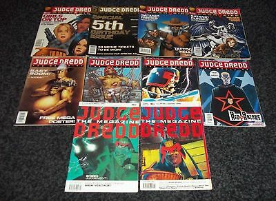 Judge Dredd Megazine Collection/lot 2000Ad 46 In Total