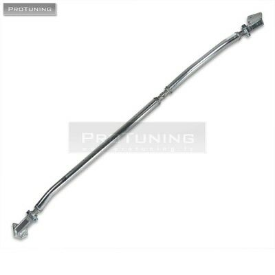 For Audi A4 B7 Polished Aluminum Front Upper STRUT BRACE Bar Front Suspension