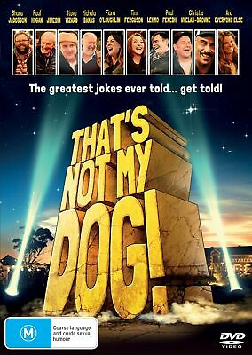 Thats Not My Dog DVD Region 4 NEW